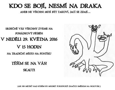 Pozvánka na pohádku Puntík 2016