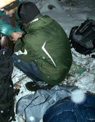 Posléze první oběť chladu nalezena