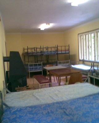 hlavní místnost v patře